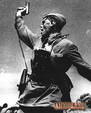 Soviet officer TT-33 pistol