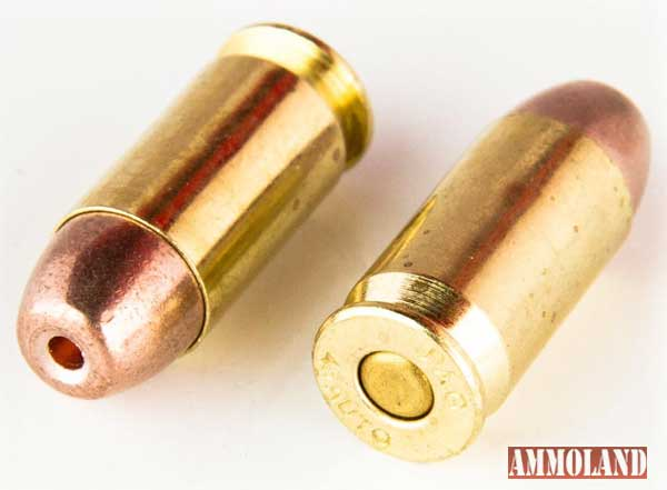 Team Never Quit 45 ACP 155gr Frangible Ammo