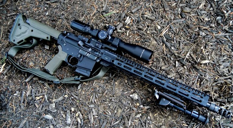 Building a  450 Bushmaster AR-15 Hunting Rifle With Off-the