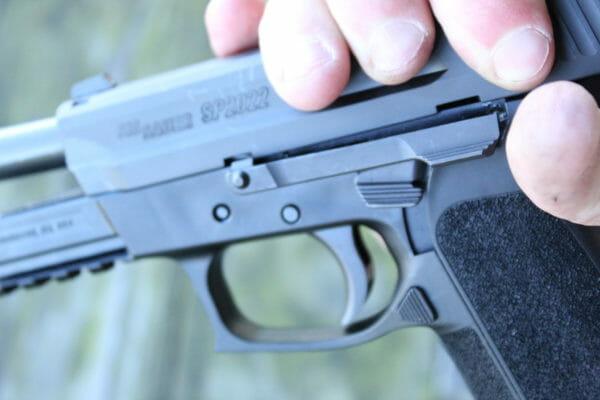 SIG Sauer SP2022 Handgun - the One We Forgot About