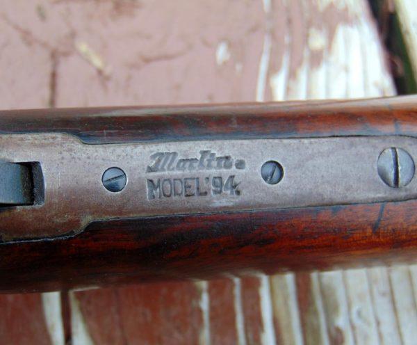 Marlin 94 Rifle ID Plate