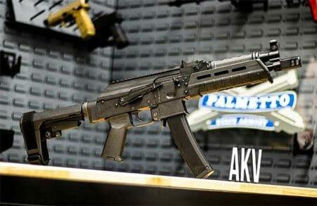PSA AK-V 9MM MOE SBA3 PISTOL Deal