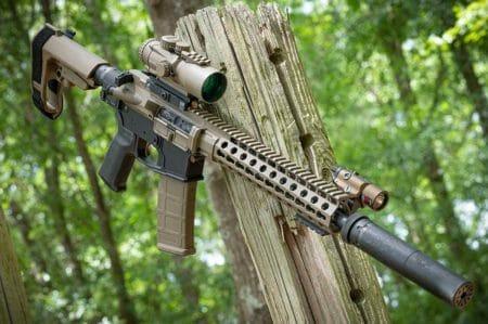 Primary Arms 5x ACSS Larue Upper 17 Lower Saker 762 ASR SilencerShop